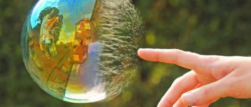 Come bolle di sapone